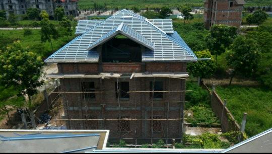 mái nhà thép